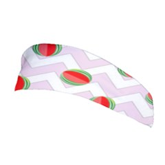 Watermelon Chevron Stretchable Headband