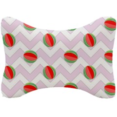 Watermelon Chevron Seat Head Rest Cushion