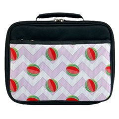 Watermelon Chevron Lunch Bag