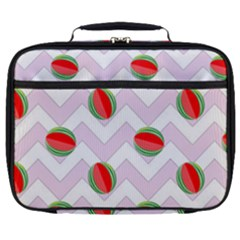 Watermelon Chevron Full Print Lunch Bag