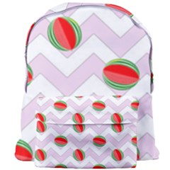 Watermelon Chevron Giant Full Print Backpack