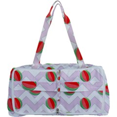 Watermelon Chevron Multi Function Bag