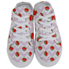 Watermelon Chevron Half Slippers