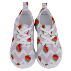 Watermelon Chevron Running Shoes