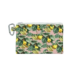 Fruit Branches Canvas Cosmetic Bag (small) by snowwhitegirl