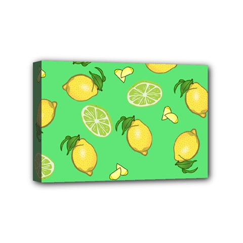 Lemons And Limes Mini Canvas 6  X 4  by snowwhitegirl
