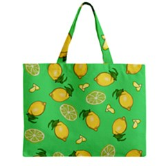 Lemons And Limes Zipper Mini Tote Bag