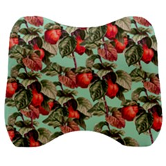 Fruit Branches Green Velour Head Support Cushion by snowwhitegirl