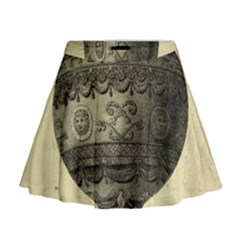 Vintage Air Balloon Mini Flare Skirt by snowwhitegirl