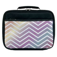 Ombre Zigzag 01 Lunch Bag