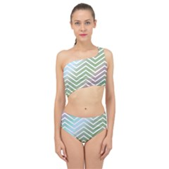 Ombre Zigzag 02 Spliced Up Two Piece Swimsuit by snowwhitegirl