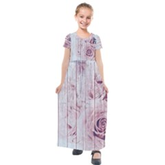 Vintage 1802821 1920 Kids  Short Sleeve Maxi Dress
