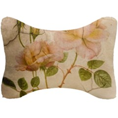 Rose Flower 2507641 1920 Seat Head Rest Cushion by vintage2030