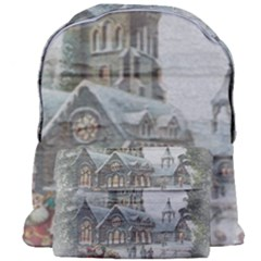 Santa Claus 1845749 1920 Giant Full Print Backpack by vintage2030