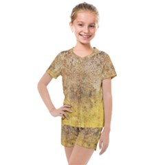 Wall 2889648 960 720 Kids  Mesh Tee And Shorts Set by vintage2030