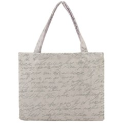 Handwritten Letter 2 Mini Tote Bag