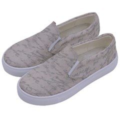 Handwritten Letter 2 Kids  Canvas Slip Ons by vintage2030