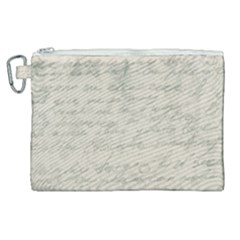 Handwritten Letter 2 Canvas Cosmetic Bag (xl) by vintage2030