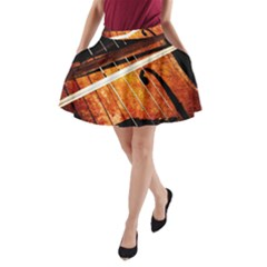 Cello Performs Classic Music A Line Pocket Skirt by FunnyCow