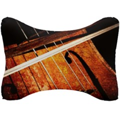 Cello Performs Classic Music Seat Head Rest Cushion by FunnyCow