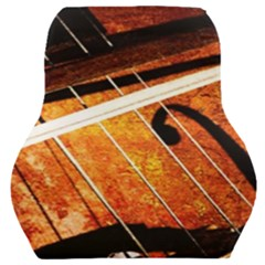 Cello Performs Classic Music Car Seat Back Cushion  by FunnyCow