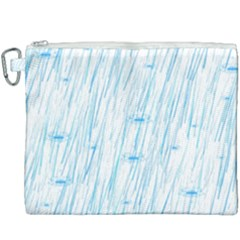 Let It Rain Canvas Cosmetic Bag (xxxl) by FunnyCow