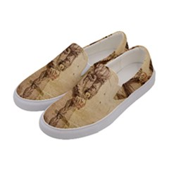 Lady 2507645 960 720 Women s Canvas Slip Ons by vintage2030