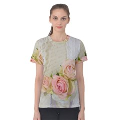 Roses 2218680 960 720 Women s Cotton Tee by vintage2030