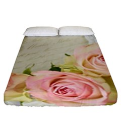 Roses 2218680 960 720 Fitted Sheet (king Size) by vintage2030