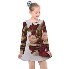 Vintage 1802788 1920 Kids  Long Sleeve Dress