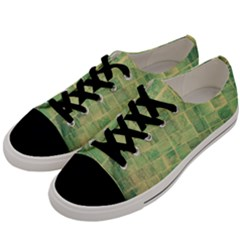 Abstract 1846980 960 720 Men s Low Top Canvas Sneakers by vintage2030