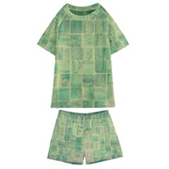 Abstract 1846980 960 720 Kids  Swim Tee And Shorts Set by vintage2030
