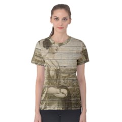Lady 2523423 1920 Women s Cotton Tee by vintage2030