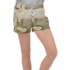 Lady 2523423 1920 Women s Velour Lounge Shorts
