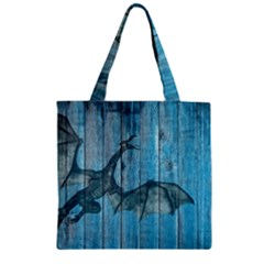 Dragon 2523420 1920 Zipper Grocery Tote Bag by vintage2030