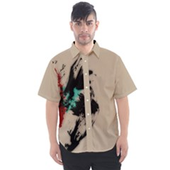 Breathe In Bold Men s Short Sleeve Shirt