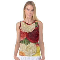 Flowers 1776429 1920 Women s Basketball Tank Top by vintage2030
