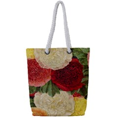 Flowers 1776429 1920 Full Print Rope Handle Tote (small) by vintage2030