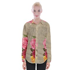 Flower 1646069 1920 Womens Long Sleeve Shirt by vintage2030