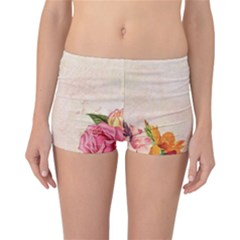 Flower 1646045 1920 Reversible Boyleg Bikini Bottoms by vintage2030