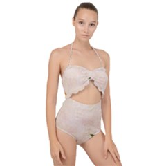 Flower 1646045 1920 Scallop Top Cut Out Swimsuit by vintage2030
