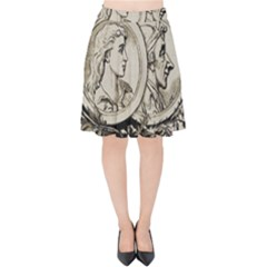 Young 1515867 1280 Velvet High Waist Skirt by vintage2030