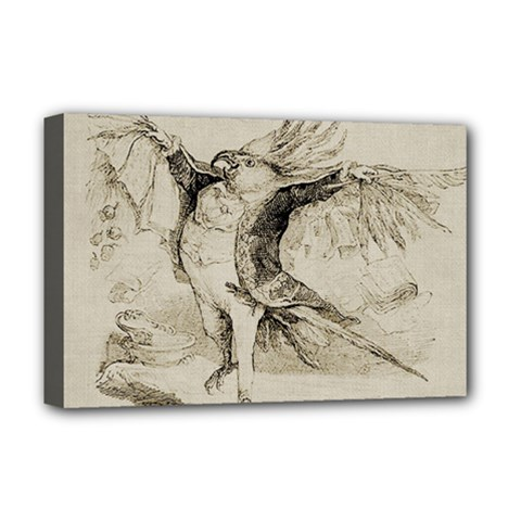 Bird 1515866 1280 Deluxe Canvas 18  X 12  (stretched) by vintage2030