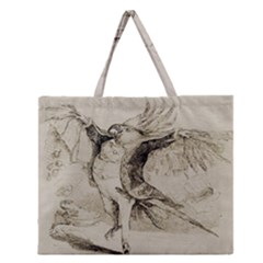 Bird 1515866 1280 Zipper Large Tote Bag by vintage2030
