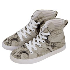 Bird 1515866 1280 Women s Hi Top Skate Sneakers by vintage2030
