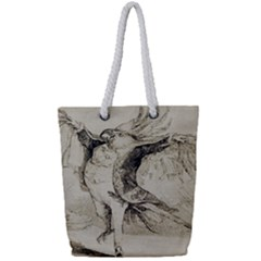 Bird 1515866 1280 Full Print Rope Handle Tote (small) by vintage2030