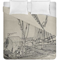 Ship 1515860 1280 Duvet Cover Double Side (king Size) by vintage2030