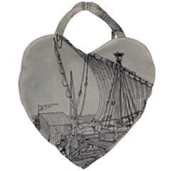 Ship 1515860 1280 Giant Heart Shaped Tote by vintage2030