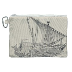 Ship 1515860 1280 Canvas Cosmetic Bag (xl) by vintage2030