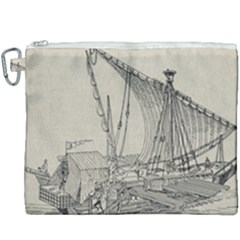 Ship 1515860 1280 Canvas Cosmetic Bag (xxxl) by vintage2030